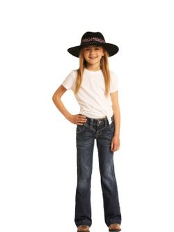 Kids Panhandle Slim Girls Trouser Jeans