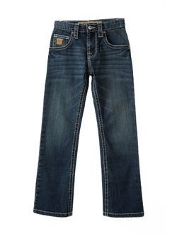 Kids Cinch Slim Dark Stone Jean