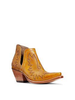 Ladies Ariat Mustard Dixon Boots