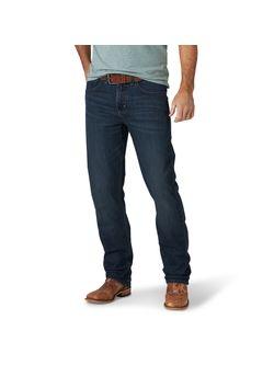Mens Wrangler 44 Slim Straight Jean
