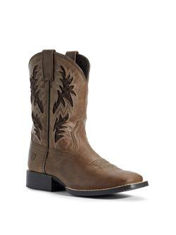 Kids Ariat Cowboy Ventek Boots