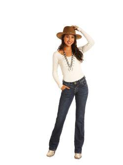 Ladies Panhandle Slim Riding Bootcut Jean