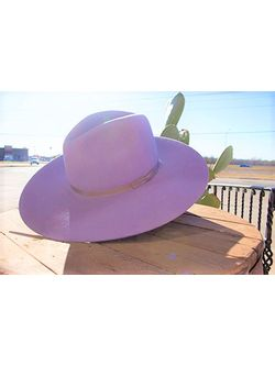Ladies Rodeo King Tracker Lilac Cowgirl Hat