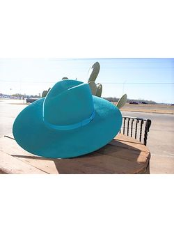 Ladies Rodeo King Tracker Turquoise Hat