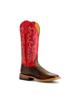 Ladies Macie Bean Old Town Red Boots