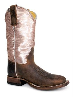 Kids Macie Bean Sequins Boots