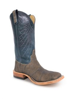 Mens Anderson Bean Bone Washout Elephant Indigo