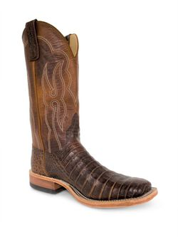 Mens Anderson Bean Franklin Post Oak Caiman Belly Lava