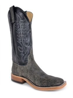 Mens Anderson Bean Gray Safari Cape Buffalo Boots