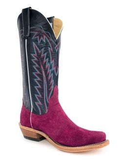 Ladies Anderson Bean Lexi Wine Roughouts