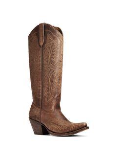"Ladies Ariat Casanova 16"" Brown Boots"