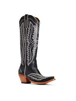 """Ladies Ariat Casanova  16"""" True Black Tall Boots"""