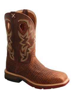 Mens Twisted X Western Work Boot