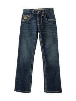 Kids Cinch Slim Dark Stone Jeans