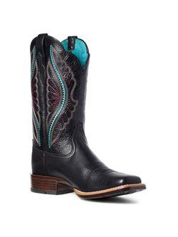 Ladies Ariat Primetime Black Boots