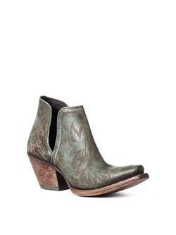 Ladies Ariat Dixon Distressed Turquoise Boots
