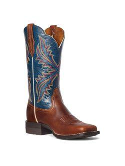 Ladies Ariat Westbound Russet Rebel Boots