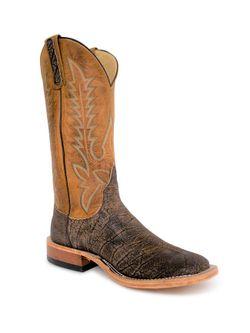 Mens Anderson Bean Brown Safari Cape Buffalo Boots