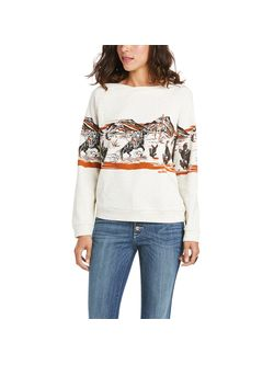 Ladies Ariat Old West Sweatshirt
