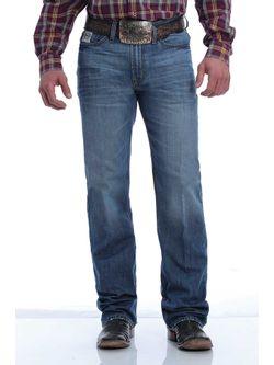 Mens Cinch White Label Medium Wash Jeans
