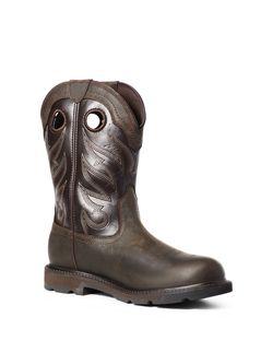 Mens Ariat H20 Groundwork Work Boots