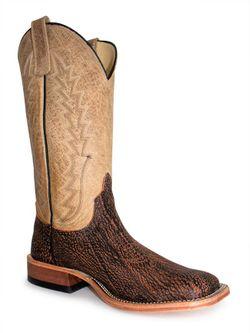 Mens Anderson Bean Cognac Safari Cape Buffalo Boots