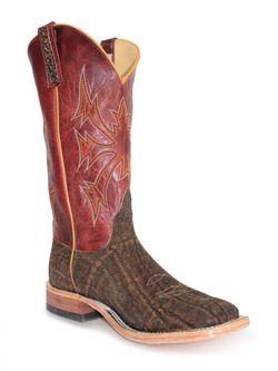 Mens Anderson Bean Rust Safari Elephant Cowboy Boots