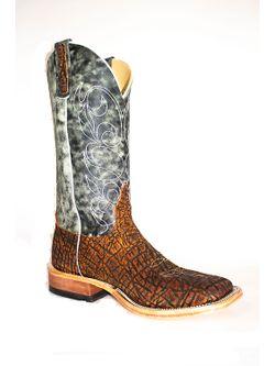 Mens Anderson Bean Rust Safari Elephant Aqua Monet Boots
