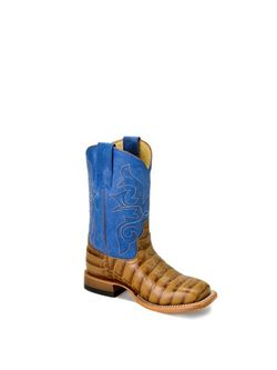 Kids Horse Power Toasted Caiman Boots