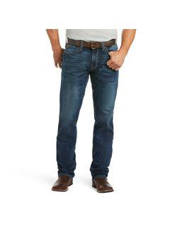 Mens Ariat Malone Straight Denali Jeans