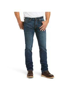 Mens Ariat M8 Modern Slim Straight Jeans