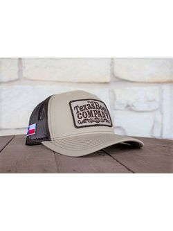 Mens TBC Brown Khaki with Chocolate Cap