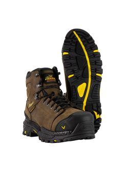"""Mens Thorogood 6"""" Infinity Brown Boot Waterproof Composite Toe"""