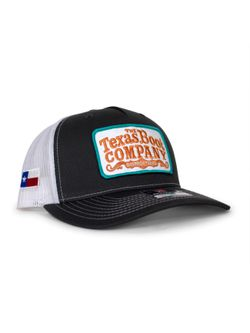 Mens TBC Gray With Turquoise and White Patch Cap