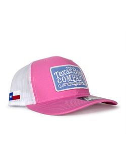 Pink and Turquoise Patch TBC Cap