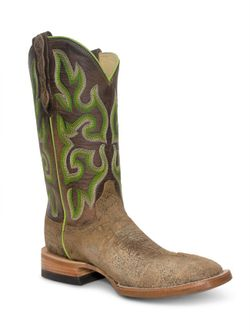 Mens Capitan Cheyenne Light Brown Boots