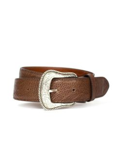 Mens Chacon Smooth Ostrich 1 1/2 Belt
