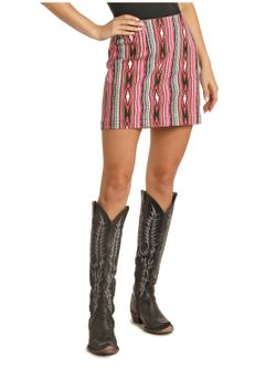 Ladies Panhandle Slim Aztec Skirt