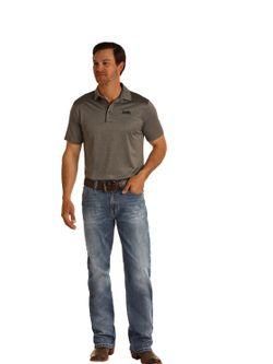 Mens Panhandle Slim Double Barrel Jeans