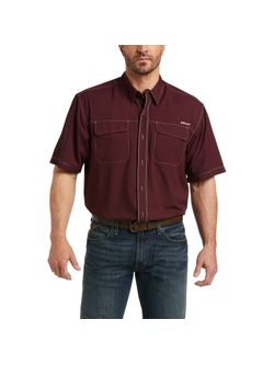 Mens Ariat Venttek Outbound Short Sleeve Shirt