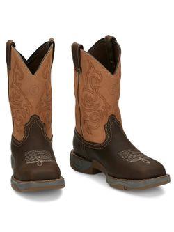 Mens Tony Lama Dusty San Antone  Steel Toe Work  Boots