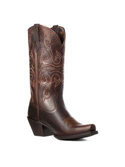 Ladies Ariat Lakota Rough Tan Boots