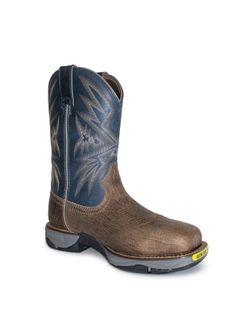 Mens Tony Lama Bartlett Stone Work Boots
