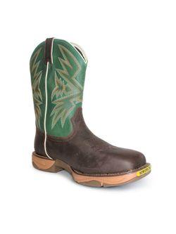 Mens Tony Lama Bartlett  Amber Work Boots
