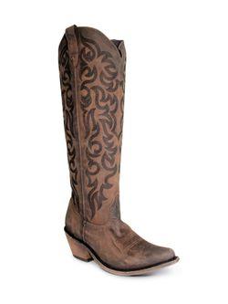 Ladies Liberty Boot Vegas T-Moro Stonewashed Boots