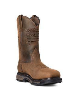 Mens Ariat Patriot Workhog Boots