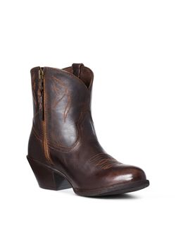 Ladies Ariat Darlin Sassy Brown Boots