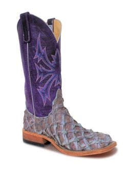 Mens Anderson Bean Purple Top Cosmic Sky Boots