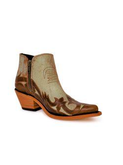 Ladies Liberty Black Caraza Cobre Mantequilla Boots
