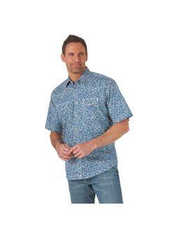 Mens Wrangler Multi Comfort Advanced Short Sleeve Shirt